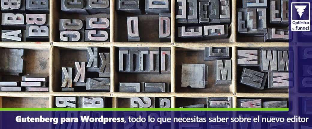 Gutenberg para wordpress