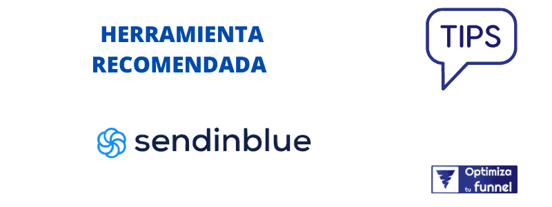 Recomiendo SendinBlue