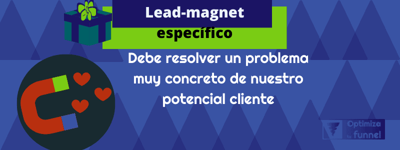 lead magnet especifico
