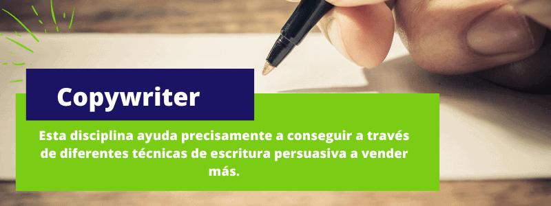 copywriter - Disciplinas del marketing digital
