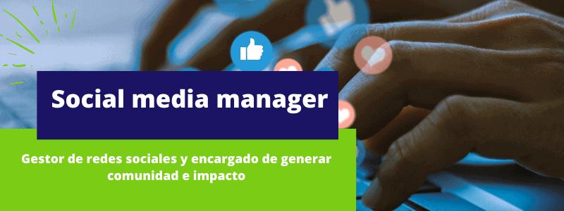 social media manager - Disciplinas del marketing digital